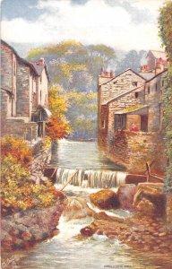 Ambleside Mill Windermere Cumbria UK Tuck Oilette 1910c postcard