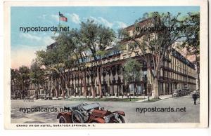 Grand Union Hotel, Saratoga Springs NY