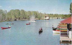 Bowness Park, swimming, picnicing, canoeing, Calgary, Alberta,  Canada,   40-60s