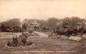 Gardens, Beveridge Park Kirkcaldy Scotland, UK Unused