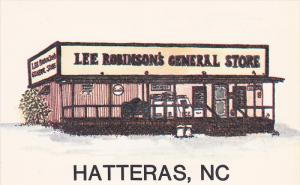 Greetings From Lee Robinson's General Store, Hatteras, North Carolina, United...