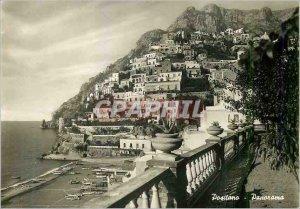 Modern Postcard Positano Panorama