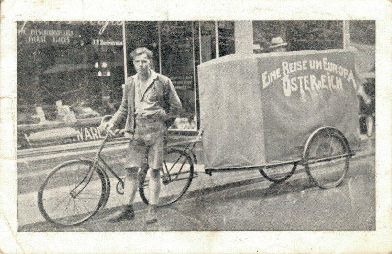 Austria Eine Reise Um Europa Österreich Bicycle postcard 03.41