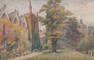 OXFORD , England , 00-10s , Exeter College Garden