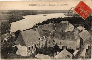 CPA BEAUGENCY - Le Couvent et vue sur la Loire (270593)