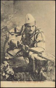 First Balkan War, Serbian Soldier Milan Aleksy (1912)
