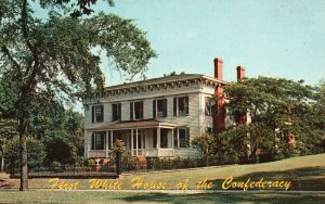 Montgomery, AL, First White House of the Confederacy, Vintage Postcard g9321