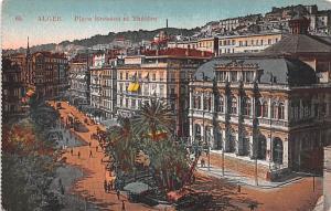 Alger Algeria, Alger, Algerie Place Bresson el Theatre Alger Place Bresson el...