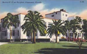 Florida Clearwater The Morton F Piant Hospital