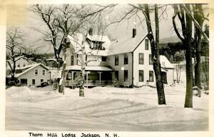NH - Jackson. Thorn Hill Lodge - RPPC