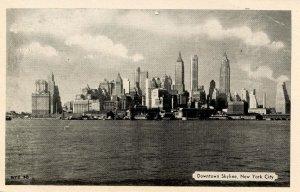 NY - New York City. Skyline