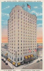 READING, Pennsylvania, 1910-30s; Hotel Abraham Lincoln