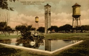 TX - San Antonio. Fort Sam Houston, Tower