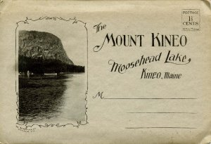 Folder - ME. Mount Kineo, Moosehead Lake  (Albertype, Black&White)   10 views