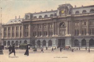 Belgium Brussels La Poste Centrale 1904