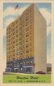Washington DC Houston Hotel Curteich