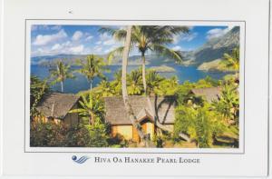 Hiva Oa Hanakee Pearl Lodge, Papeete, Tahiti, unused Postcard