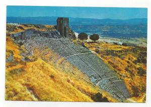 Turkey Bergama Izmir Acropolis Theatre Greek Ruins Postcard