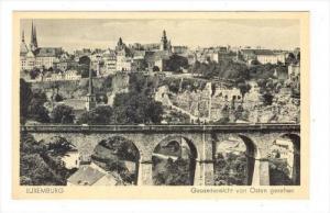 Luxemburg , Gesamtansicht von Osten gesehen, 00-10s