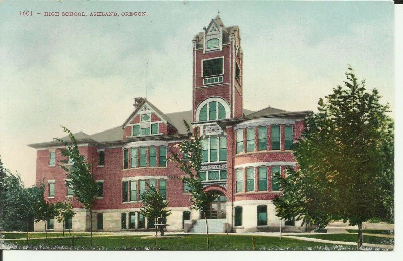Ashland, Oregon,High School
