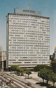 VANCOUVER, British Columbia, Canada, 1940-1960's; B.C. Electric Building