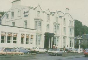 Royal Hotel Stirling Henderson Street Bridge Of Allan Postcard