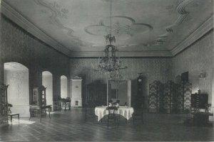 Transylvania Trust Postcard Castelul Banffy Dinning Hall