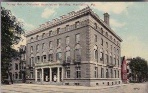 Pennsylvania Harrisburg Y M C A Building 1913 sk2393