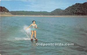 Water Skiing, South Holston Lake Abingdon, Virginia, VA, USA Water Skiing 1956