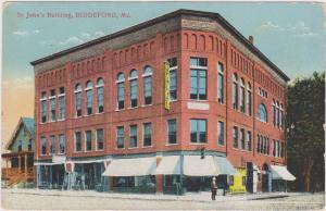 St. John´s Building , BIDDEFORD , Maine , 00-10s