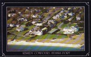 Massachusetts Cape Cod Hyannis Port Aerial View Kennedy Compound