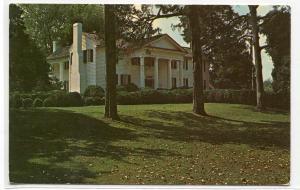 John C Calhoun Home Fort Hill Clemson University South Carolina 1975 postcard