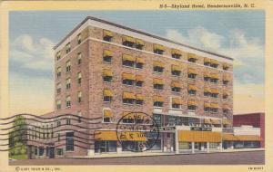 Skyland Hotel, Hendersonville, North Carolina, PU-1945