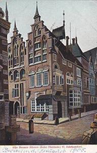 Alte Bremer Hauser (Ecke Obernstr.) 17. Jahrhundert, Bremen, Germany,  PU-1905
