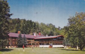 Golf at ALPINE INN , Ste. Marguerite Sta. , Quebec, Canada , PU-1961