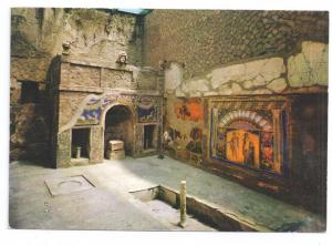 Ercolano Italy Casa Mosaica di Nettuno Amphitrite Neptune