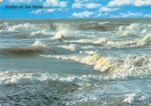 Netherlands Groeten uit Den Helder Sea Waves Landscape