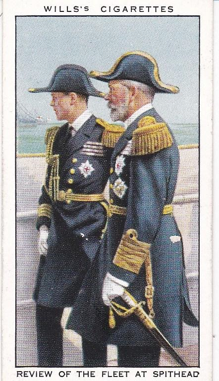 Cigarette Card Wills The Reign of H.M. George V (1935) No 21