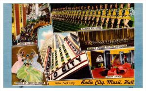 10439  New York city  Radio City Music Hall,  multi-view