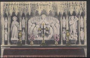 Somerset Postcard - The Reredos, All Saints Church, Langport    RS2809