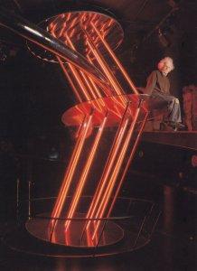 Albert Einstein in Astronomy Gallery London Planetarium 1970s Postcard