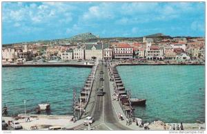 Pontoon Bridge Connecting The Two Parts Of Willemstad, The Capital Of The Isl...