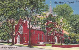 St. Mary's Church, GREENVILLE, South Carolina, 1930-1940s