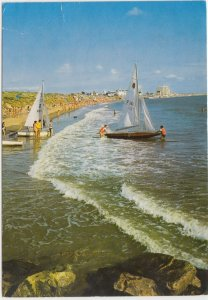 SAINT-GILLES-CROIX-DE-VIE (Vendee), La plage de Saint-Gilles, France, 1977 used