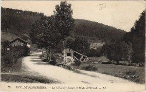 CPA Environs DE PLOMBIERES - La ville des roches (153559)