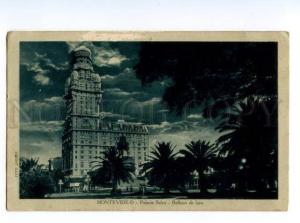 133046 URUGUAY MONTOVIDEO Palacio Salvo Vintage postcard