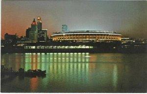 1970's Cincinnati Riverfront Stadium, Cincinnati, Ohio Chrome Postcard
