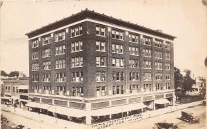 D96/ Albert Lea Minnesota Mn Photo RPPC Postcard 1921 Home Investment Building