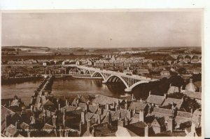 Northumberland Postcard - The Bridge - Berwick Upon Tweed - RP - Ref 17075A