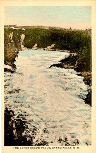 Canada - New Brunswick. Grand Falls. Gorge Below The Falls
